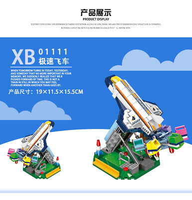 Xingbao 01114 Building Blocks Playground Amusement Park Model Easter Gifts Toys