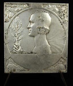 Medal-Niort-1953-25e-Fair-Exhibition-D-039-Art-Agriculture-Art-Deco-Medal