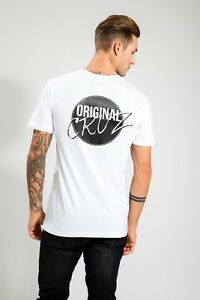 HIGH-QUALITY-ASCOLOUR-MEN-039-S-WHITE-SUMMER-GYM-TEE-WITH-PRINT