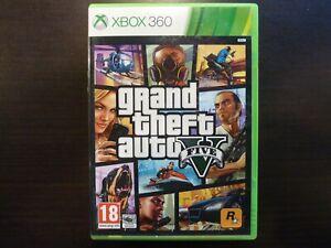 XBox 360 Grand Theft Auto V GTA complet 2 cds PAL  Vers. Fr.