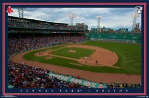 Details about MLB BASEBALL BOSTON RED SOX FENWAY PARK POSTER trends 14043  new free shipping