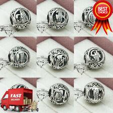 Pandora, Alphabet Letter, Initial, Vintage, Bracelet Charm, A-Z, NEW