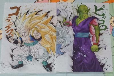 Ichiban Kuji Dragon Ball Z ULTIMATE EVOLUTION A4 Clear File 2 Sets Goku Broly