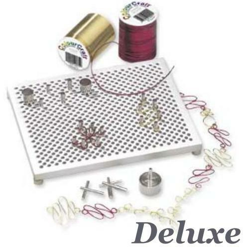 Thing-A-Ma-Jig wireworking Peg Board Kit choisir débutant ou Deluxe wirewrapping