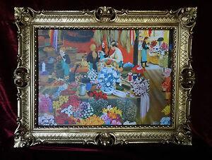MARCO-CUADRO-MARCO-ANTIGUO-Barroco-ROCOCO-Tienda-de-flores-flores-TIENDA-90x70-7