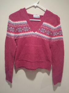 image is loading vintage ugly christmas sweater tacky kids 6 8 - Pink Ugly Christmas Sweater
