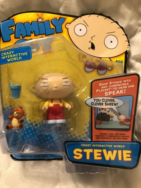 Family Guy Stewie Interactive Collector Figure