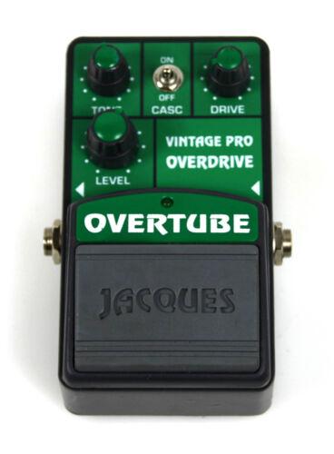 Jacques Vintage Pro Overdrive TS808 Overtube Guitar FX Effects Pedal Effekt