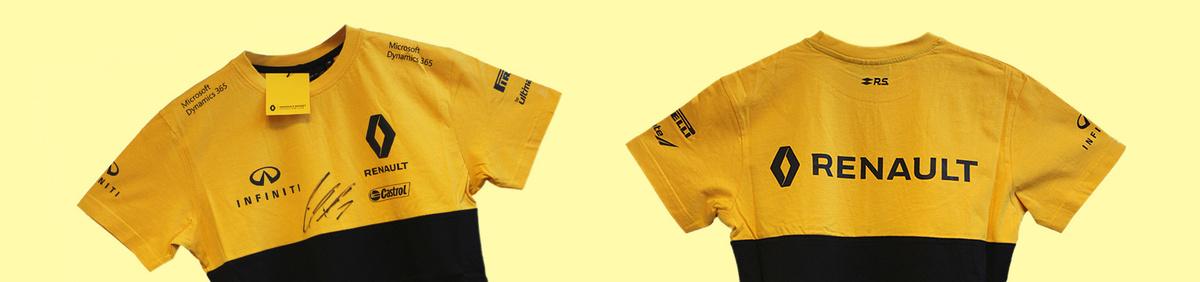 Aktion ansehen ATP & Castrol versteigern: 4 signierte T-Shirts von Niko Hülkenberg*