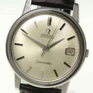 OMEGA-Seamaster-Date-cal-562-Automatic-Leather-Belt-Men-039-s-491045