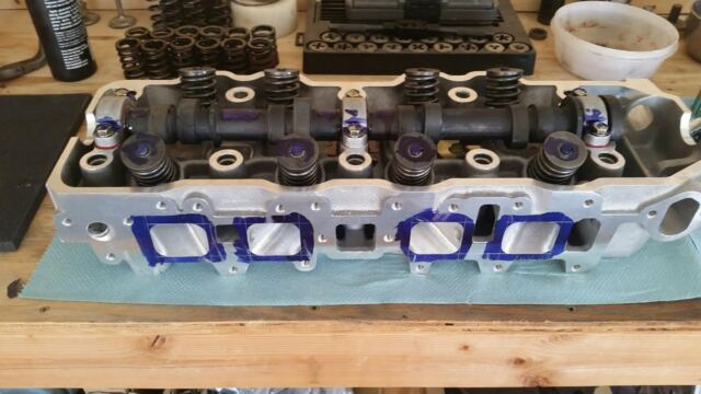 22re Performance Cylinder Head Assembly by D O A  Racing Engines