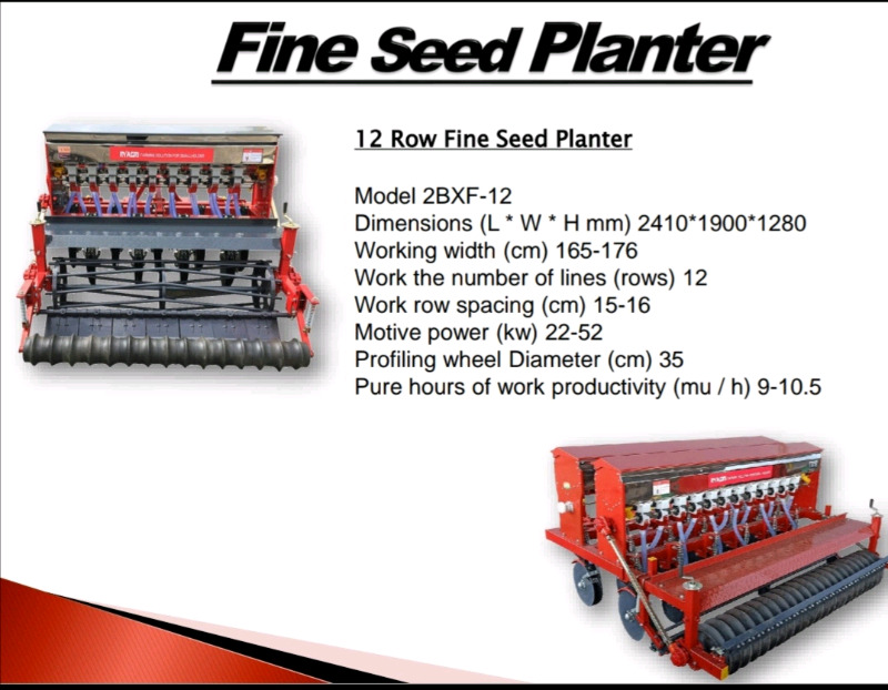 FINE SEED PLANTERS