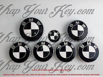 POUR BMW Gloss Rose Badge decals tous les modèles Wrap Autocollant superpositions emblèmes
