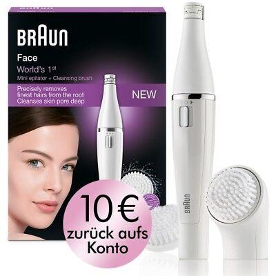 Braun Face 820 Gesichtsreinigungsbürste und -epilierer, neu/OVP Ersatzbürste
