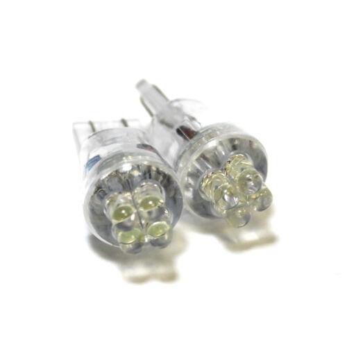 Suzuki SX4 White 4-LED Xenon Bright ICE Side Light Beam Bulbs Pair Upgrade