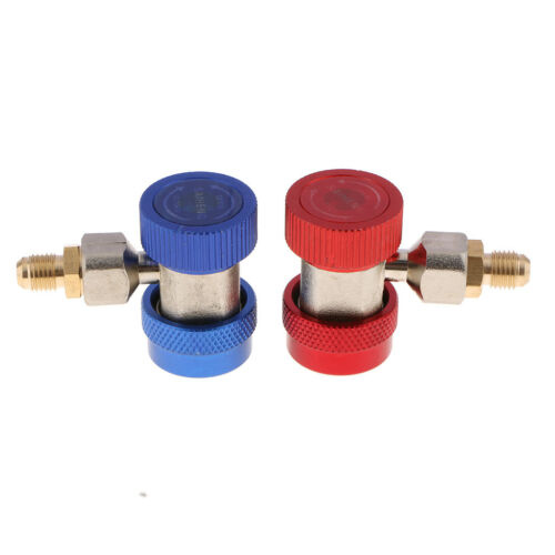 R134a Adapter Schnellkupplung Kupplung Verbinder Zubehör für Klimaanlage