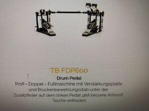 TAMBURO-TB-FDP-600-Doppelpedal-mit-doppeltem-Kettenzug-PROFI