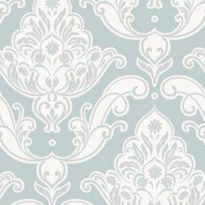 Rasch Gatsby Floral Damasse Motif Paillete Papier Peint Vinyle