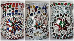 Oil-Burners-Wax-Melts-Turkish-mosaic-candle-holders-Yankee-Candle-Tart