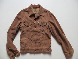 Levi-039-s-70500-Cord-Jeans-Jacke-Jeansjacke-Gr-S-M-braune-SLIM-FIT-Cordjacke