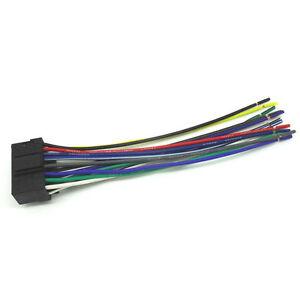 sony automotive audio wiring harness sony car audio radio headunit stereo 16 pin wire wiring harness  sony car audio radio headunit stereo 16