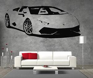 Lamborghini-Aventador-Vinyl-Sticker-Wall-Art-Boys-Bedroom-Garage-Play-Room