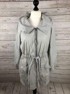 Vera Women's Wang Coat Rain Condition Gray Great Xl 14r1q