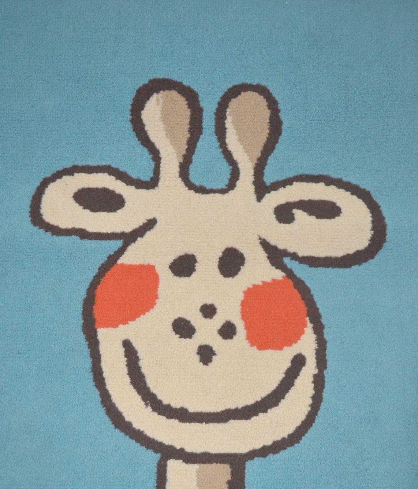 Chambre à coucher Kit tapis rideaux Mantovana Lustre Girafe