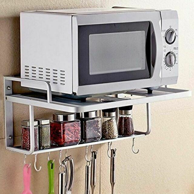 Double Bracket Alumimum Microwave Oven