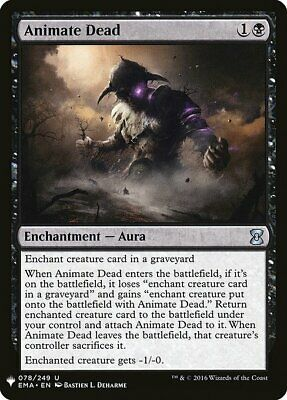 4x Animate Dead Mystery Booster NM MTG 1x Playset