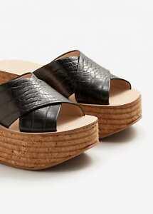 8bebc34480705f MANGO (Zara Group) CRISS-CROSS STRAPS SANDALS Shoes - US7.5 UK5 ...