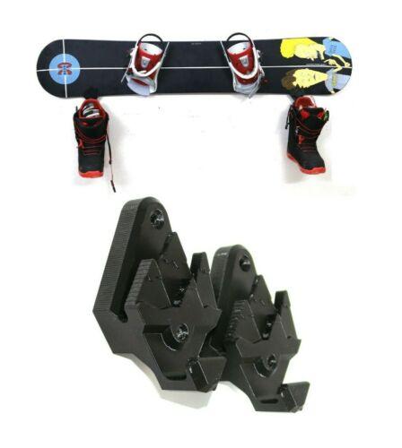 Schwarz Snowboardhalter Snowboard Boots Schu Wandhalterung Wand Halter Halterung
