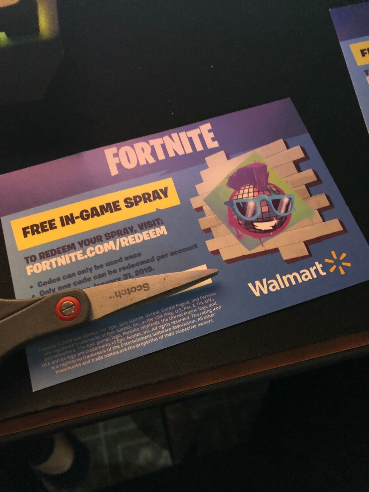 How To Get Walmart S Free Fortnite Spray