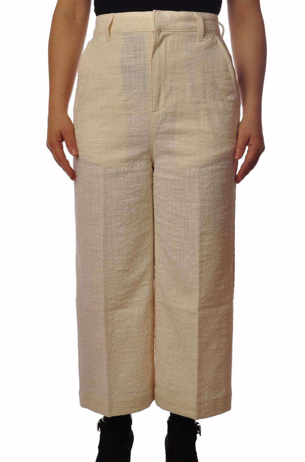 Department 5  -  Pants - Female - Beige - 3674725A184811