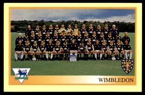 #453-WIMBLEDON TEAM PHOTO MERLIN-1994-PREMIER LEAGUE 94