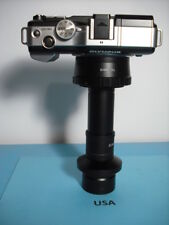 Olympus M43 Camera 2 Nikon Microscope Adapter 05x Amp 10xlens Leitz Leica Iso38