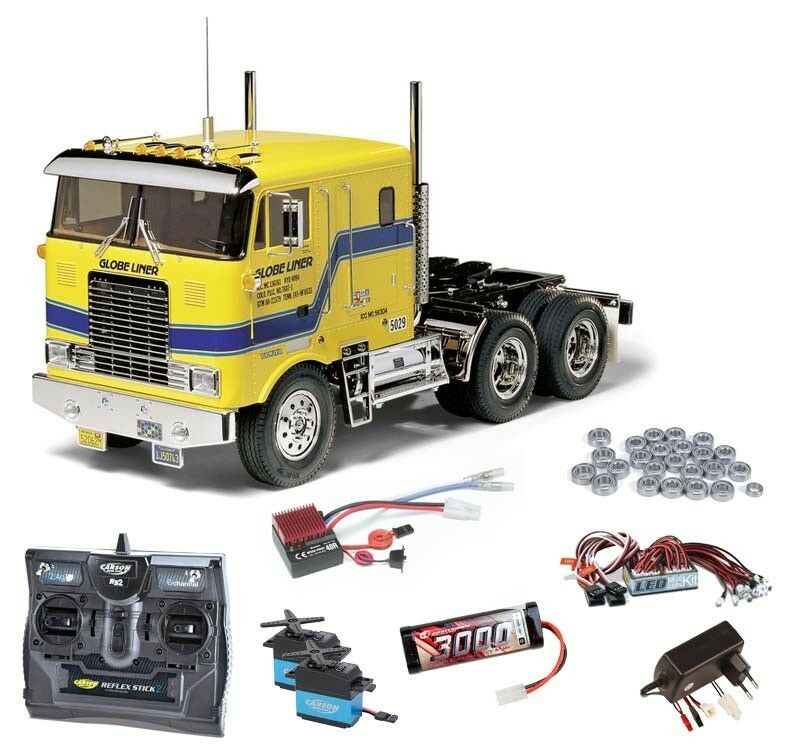 TAMIYA CAMION GLOBE LINER SET COMPLETO + LED, Cuscinetti a sfere - 56304set2