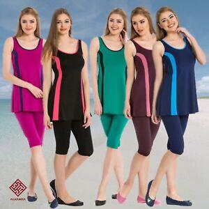 AlHamra-AL7104-Modest-Burkini-Swimwear-Swimsuit-Muslim-Islamic-Sportwear-2PEICE
