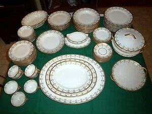 Antique-GDA-Limoges-France-CH-Field-Haviland-Wright-Tyndale-Van-Roden-Dinner-Set