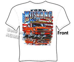 65 66 67 Mustang T Shirt Ford Shirt 1965 1966 1967 Mustang Apparel Classic Car