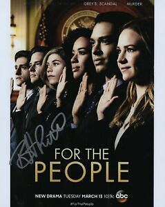 GFA-For-the-People-BRITT-ROBERTSON-Signed-Autograph-8x10-Photo-MH1-COA
