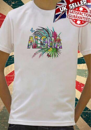 Aloha Hawaiian summer Holiday vibes Boys Girls Birthday gift Top T shirt 337
