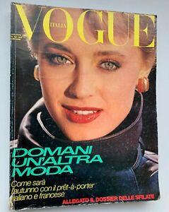 XXL-vintage-VOGUE-ITALIA-80s-fashion-magazine-Versace-Armani-Valentino-Mugler