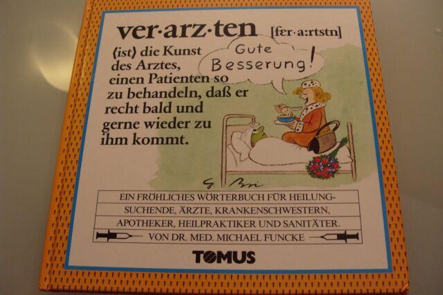 Buch Verarzten Wörterbuch von Dr. Med. Michael Funcke by Tomus Verlag
