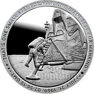 2019 Apollo 11 Series 50th Anniversary 1oz Silver Coin #4 THE CREW