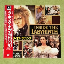 DAVID BOWIE Inside The Labyrinth - RARE 1987 JAPAN LASERDISC + OBI (EHL-8001)