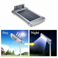 Solar Wall Mount Street Lights Outdoor Waterproof Deck Post Night Sensor Light
