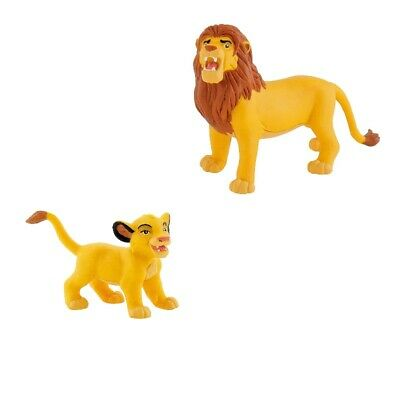 Spiel Set Disney Der König der Löwen Simba Lion Spielfigur Kuchen Torte Deko NEU