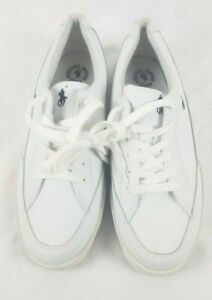 U.S. Polo Assn White POLO Athletic Sneakers Shoes Men's Size 12 Used