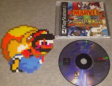 PS1 Marvel Vs. Capcom RARE Capcom fighting  PSX playstation